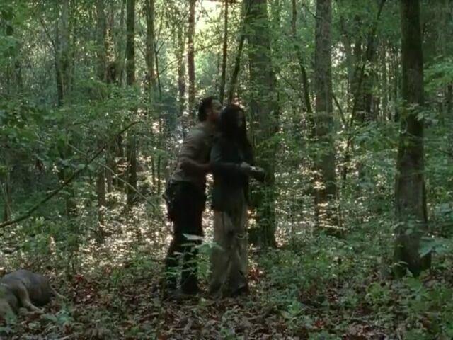 File:Rick-Clara in the woods.jpg
