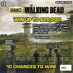The Walking Dead scratch games (New York)