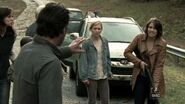 Rick calming Beth down
