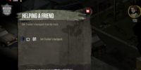 The Walking Dead Social Game Mission 6: Helping a Friend