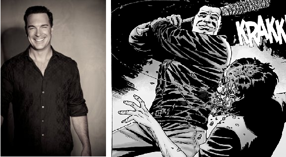 Patrick warburton as negan