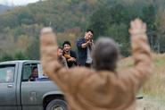 AMC 615 Carol Confronts Saviors