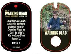 File:The Walking Dead - Dog Tag (Season 2) - Chandler Riggs CR11 (AUTHENTIC WORN COSTUME PIECE).jpg