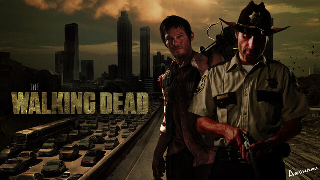File:The walking dead wallpaper by hamidabshari-d6g4xlm.jpg