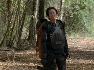 "Glenn on riot gear - woods""Us"""