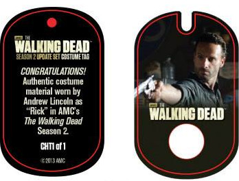 File:The Walking Dead - Dog Tag (Season 2) - Andrew Lincoln CHT1 (AUTHENTIC WORN COSTUME PIECE).png