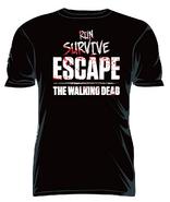 """THE WALKING DEAD """"RUN SURVIVE ESCAPE"""" T-SHIRT"""
