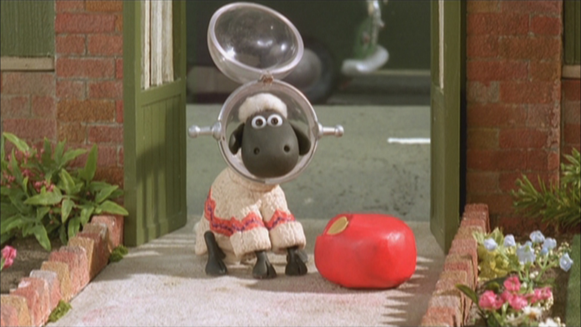wallace and gromit meet shaun the sheep tv