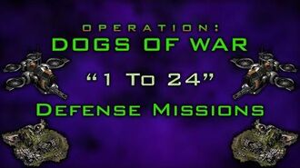 Operation Dogs of War - Defense Track