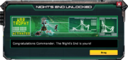 NightsEndWarTrophy-UnlockMessage