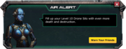 DroneSilo-Lv10-Message