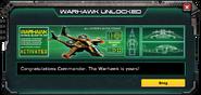 Warhawk-UnlockMessage