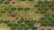 War room on world map