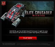 Elite-Crusader-Weekend-EmailNotice
