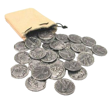 the pieces of silver Buy 1 oz silver pieces of eight rounds at competitive silver prices buy silver rounds and silver bullion online or call 1 877 775-4826, 1 514 313-9999.