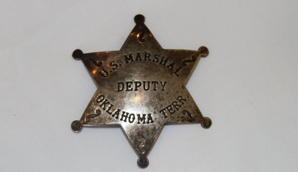 Bass Reeves Marshal Badge Warehouse 13 Artifact