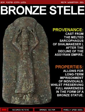 Bronze Stele