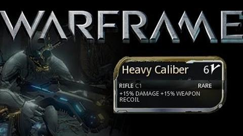 advice on getting heavy caliber :: Warframe General Discussion