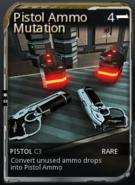 Pistol ammo mutation new