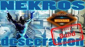 NEKROS DESECRATION BUILD - Warframe Builds GamesWise