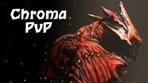 Chroma in Warframe PvP!