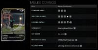 MeleeCombos