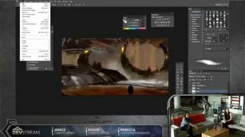 DevStream 37 - Live Concept Art Showcase