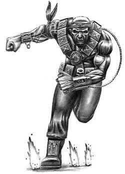 Penal Legionary Human Bomb