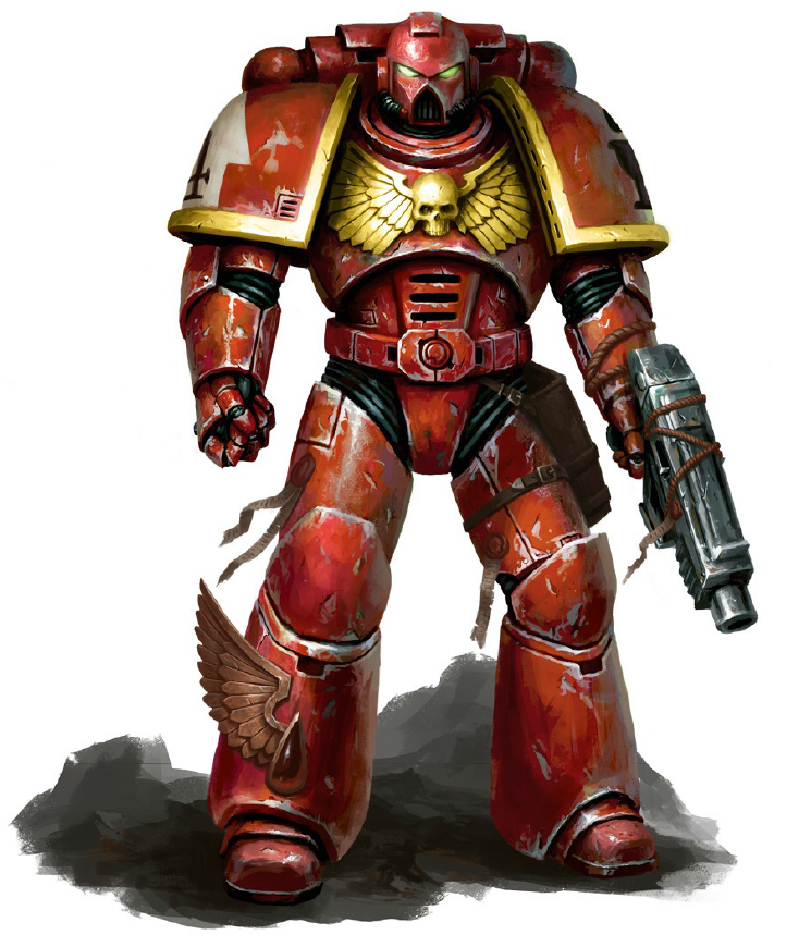 General Warhammer 40k Space Marines