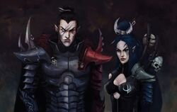 Dark eldar on raids by beckjann