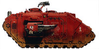 Red Hunters Land Raider