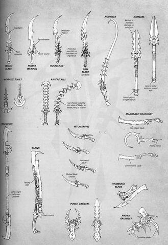 File:Dark Eldar Melee Weapons.jpg