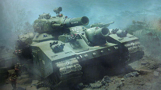 File:Baneblade with Infantry.png