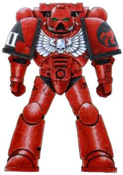 Red Talons colour scheme