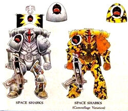 Space Sharks Original Colours