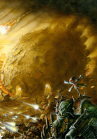 Orc Rok Disgorging Troops