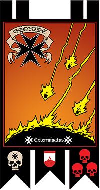 Black Templars - Geonide bannerb