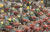 Flash Gitz vs. Chaos Marines