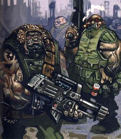 Fohrste Ogryns Imperial Army