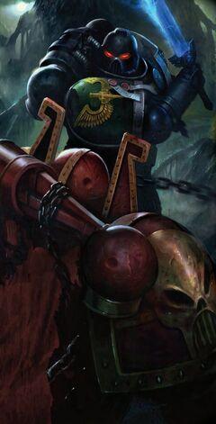 DA Deatwatch vs. Chaos Legionnaire