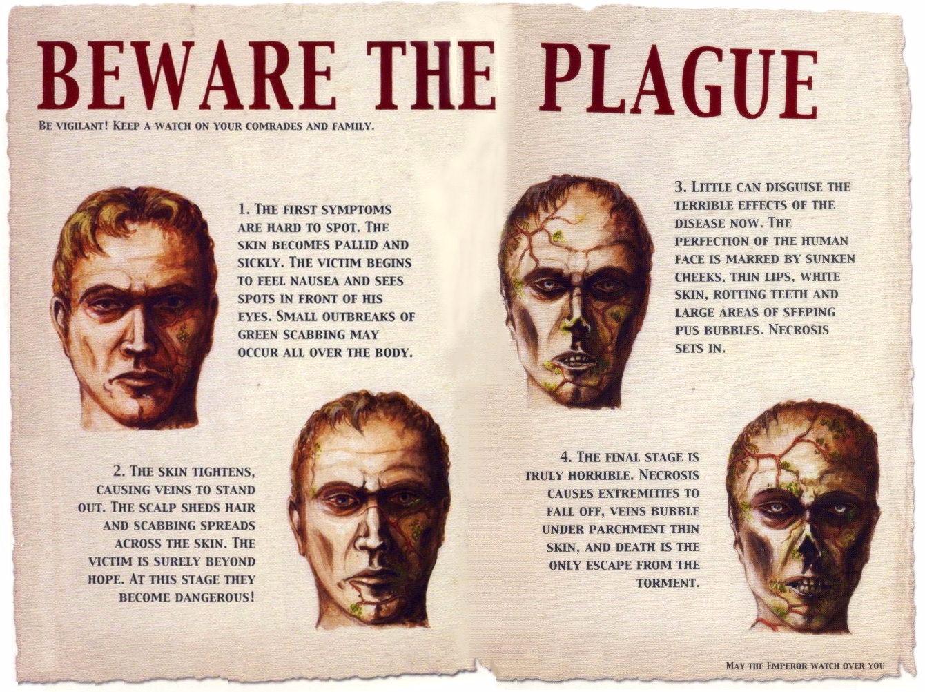 Beware the plague