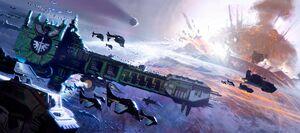 Dark Angels Fleet