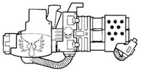 Mk III 12 Burst Prom Tank BA