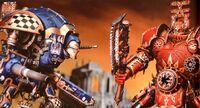Terryn Imperial Paladin vs. Lord of Skulls