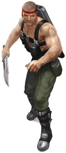 Catachan Male Trooper