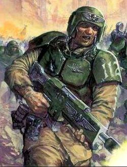 Cadian Shock Troopers combat2