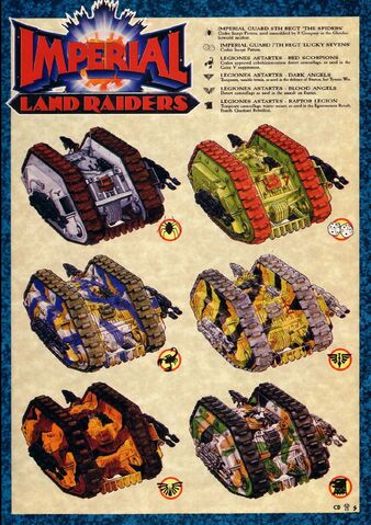 File:Land Raider Proteus colour schemes HH Era.jpg