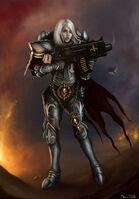 Warhammer40k sister of battle by jorsch