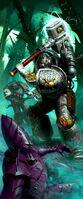 Deathwatch Marine Vs a Dark Eldar