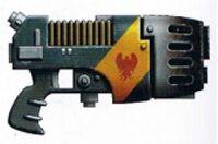 Firehawks Monocore Plasma Pistol